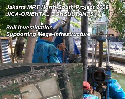 Jakarta MRT North-South Project 2009