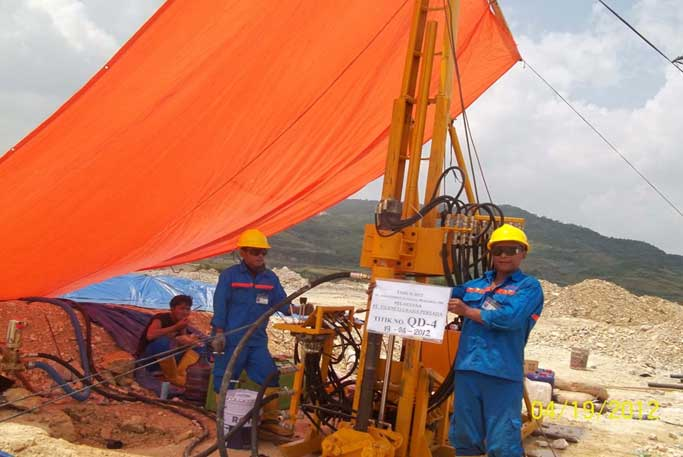 Geological Drilling for Quarry D 2011-2013