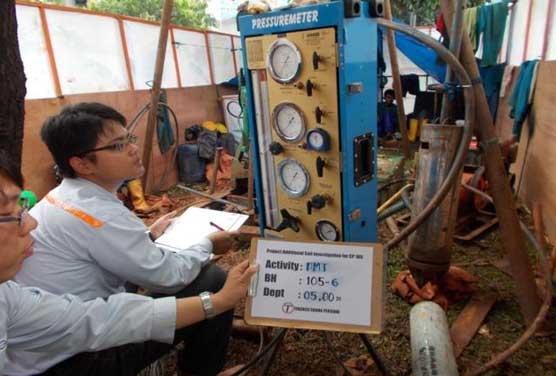 Jakarta MRT CP-105 Soil Investigation 2013