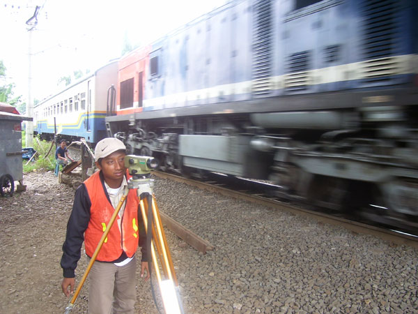 Topography Survey for Engineering Services for Railway Double Tracking on Java South Line Project 2010-2012