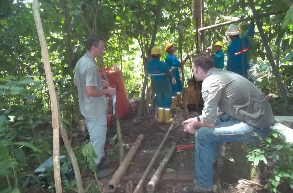 Soil Investigation for Rajabasa Geothermal Power Plant 2013-2014