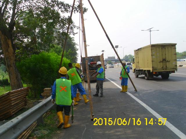 Soil Investigation for Jakarta Light Rail Transit (LRT) Cawang-Bogor-Bekasi 2015-2016